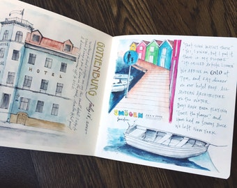 My Summer 2015 Sketchjournal