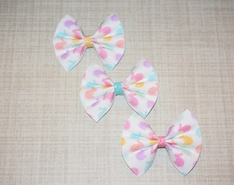 1 Bunny Bow ( you pick color)