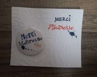Card + badges mistress