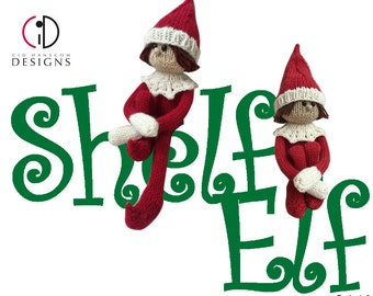 Shelf Elf Knitting Pattern