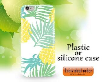Pineapple Phone Case Fruit Summer iPhone case for iPhone 7 Plus iPhone 8 Plus iPhone 6 iPhone 6s SE 5S 5 Samsung s9 plus s8 plus case