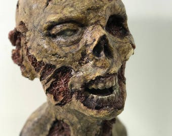 Rotting Corpse Resin Bust