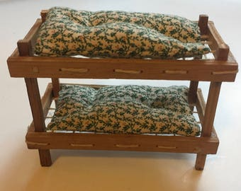 Green Patterned Beds