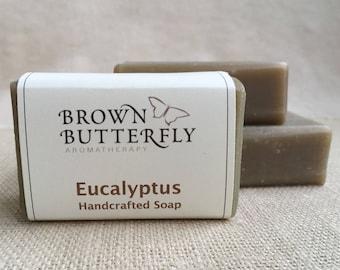 Handcrafted Eucalyptus Soap