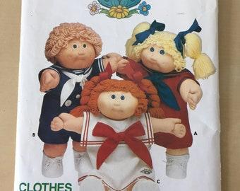 Cabbage Patch Kids - Butterick #3151 Sailor Dress/Shorts Pattern