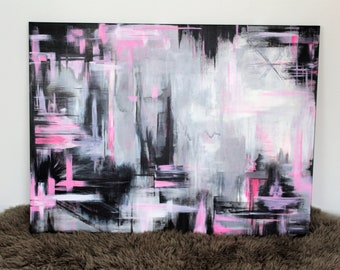 """Original Acrylic Abstract Painting, Titled: """"Inner Beauty"""""""