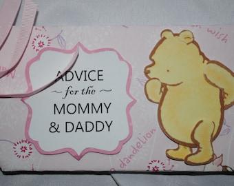 Classic Winnie the Pooh Baby Advice Book