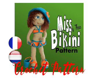 Tutorial doll Miss Bikini