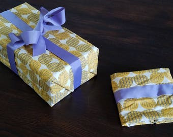Reusable Fabric Gift Wrapping