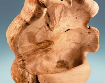 Wood bowl, burl bowl, wood turned bowl, wooden bowl, hand  turned wood bowl, wood bowl decor, anniversary gift, housewarming gift, wood art