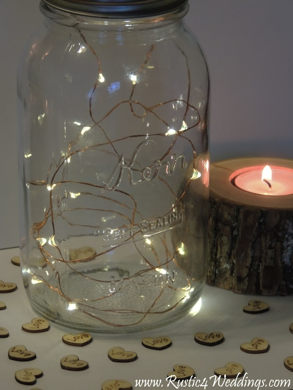 5 Sets Led Battery Operated Fairy Lights Rustic Wedding