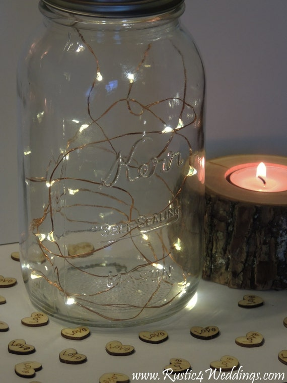 5 sets led battery operated fairy lights rustic wedding - Fairy light decoration ideas ...