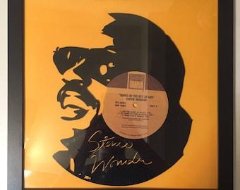 Stevie Wonder Vinyl Art-Wall Decor