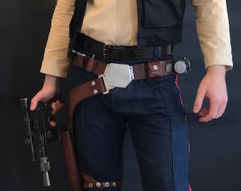 Han Solo Inspired ANH/ESB/RotJ Corellian Pants Cosplay Costume
