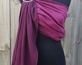Honeycomb Loom - Rose - Wrap Conversion Ring Sling