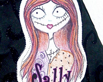 Sally Nightmare Before Christmas Costume Sew On Patch