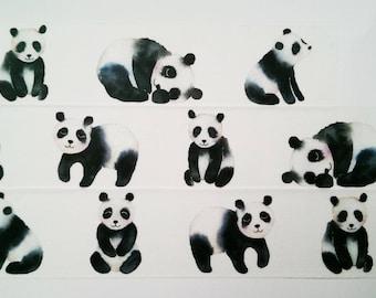 Design Washi tape Panda animals Sweet