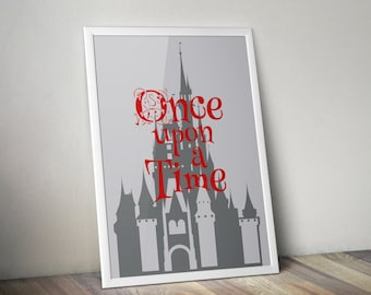 70 x 50 cm - Poster - Once Upon a Time