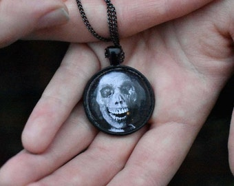"""Psycho """"Mother"""" Pendant Necklace"""