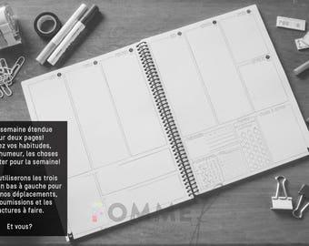 AGENDA 2018. Bullet Journal style. Agenda. Organizer. Bullet Journal