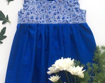 Little dress - Delft Blue 2