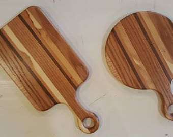 Hardwood cutting board set