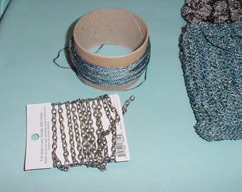 FINISH this Project! UNFINISHED Hand Knit Evening Bags to Finish DESTASH! 2 Metallic Knit Evening Bags to Finish