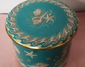 Rare Vintage 1950's Tin Container Made In Holland