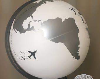 Urn wedding globe