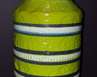 Florentine, Made in Italy, handmade, Lime vase
