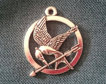 1 x Jay Mockingbird Hunger Games silver/bronze