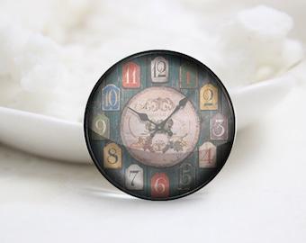 10mm 12mm 14mm 16mm 18mm 20mm 25mm 30mm Clock-Handmade Round Photo glass Cabochons (P2720)