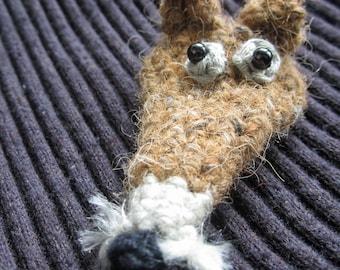 Crochet Pattern for Dijon the Fox Brooch