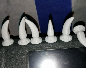 3D Printed Fursuit Claws