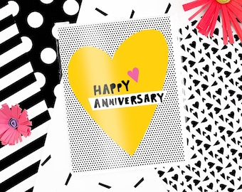 Anniversary Heart Card