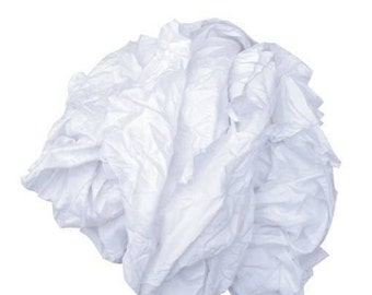 Pure White Cotton Cleaning Cloths Trade Pack