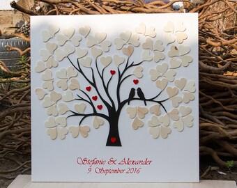 Guestbook Wedding Tree Alternative Guestbook Wood