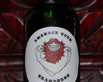 Beard Oil - Ginger Beard Scent - 30ml (1oz) bottle