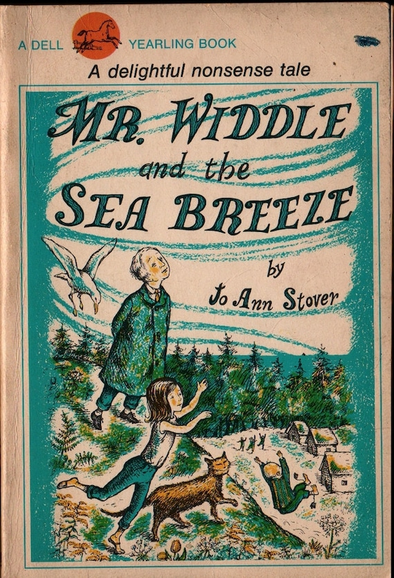 Mr. Widdle and the Sea Breeze + Jo Ann Stover + Jo Ann Stover + 1966 + Vintage Kids Book