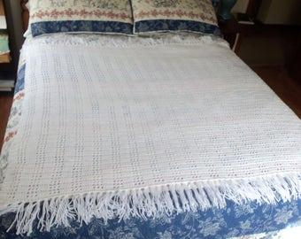 Elegant Baby Christening/Afghan/ Blanket/Throw