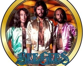 Vintage 1970's Bee Gees Custom T-shirt