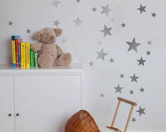 Wall Decals Murals Etsy UK - Nursery wall decals ukbaby nursery wall decor uk baby room wall art uk grey and yellow