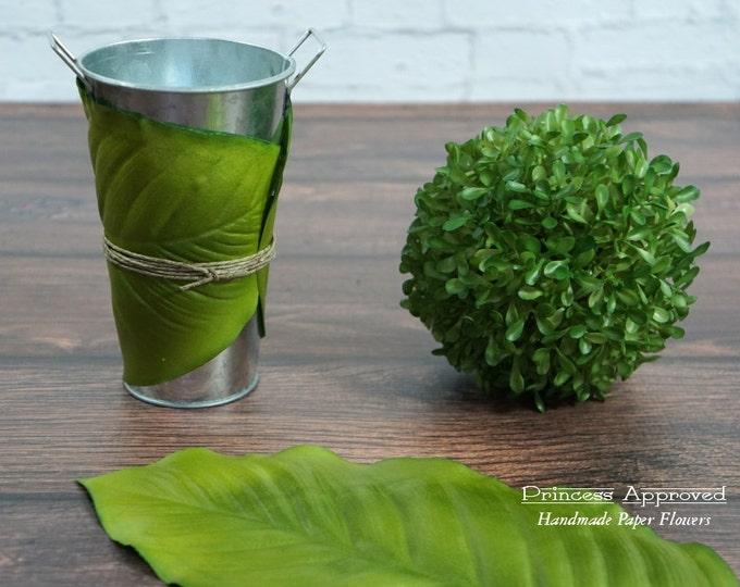 Artifical Leaf Wraps- Set of 3