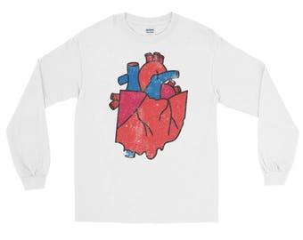 Ohio Heart / Long Sleeve T-Shirt