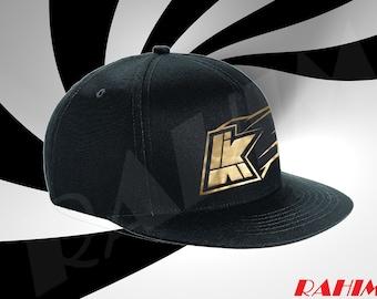 Kwebbelkop logo limited edition gold, youtuber ,Snapback, Baseball cap