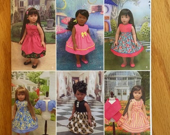 Simplicity Sewing Pattern J0436, 18 inch Doll Clothes Pattern, Pattern for 18 inch American Doll Clothes Pattern, Quiltsy Destash Party