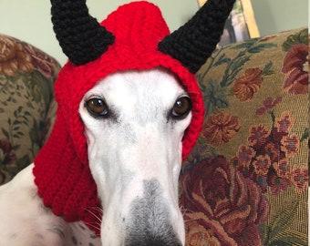 Devil greyhound snood - free shipping!