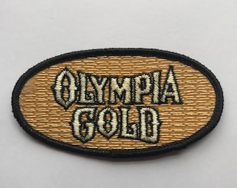 Olympia Gold Beer Patch