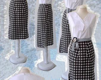 Coton polka dots Dress faces / VestidoAlgodón lunares  Caras