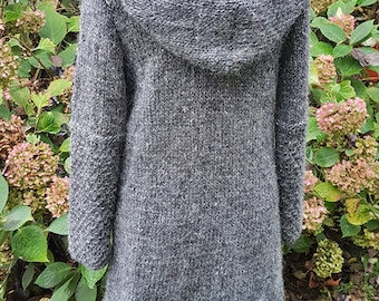 cardigan from iceland wool***S